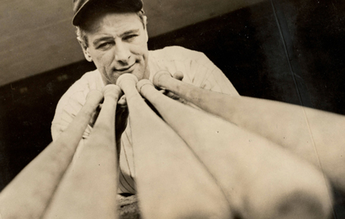 Iconic 1937 Lou Gehrig Original International News Photograph, PSA/DNA Type 1