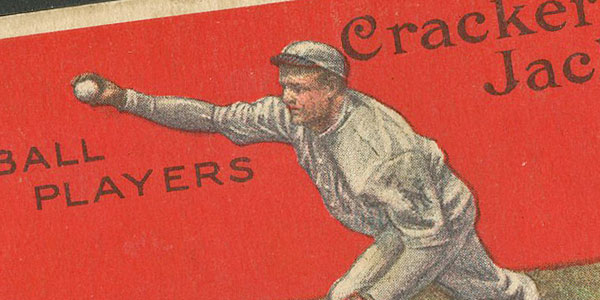 1914 Cracker Jack #88 Christy Mathewson SGC 3 VG